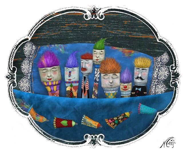 10 De Noviembre Dia Del Dibujante Ilustraciones