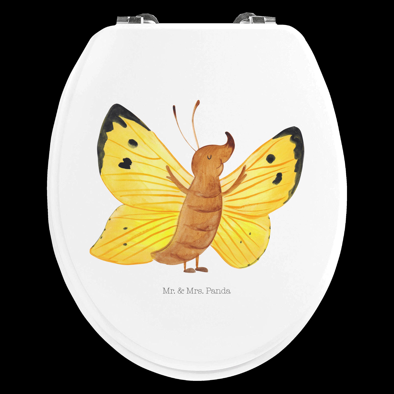 Motiv WC Sitz Schmetterling Zitronenfalter