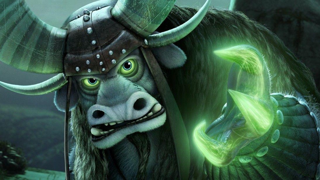 Kai stands menacingly with his mystical claws | Kung Fu Panda ...