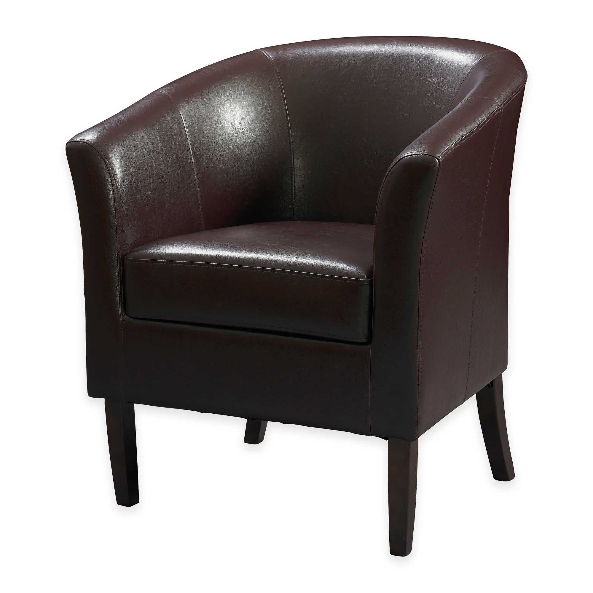 Best Compact Chair For A Small Space Faux Leather Adds 640 x 480