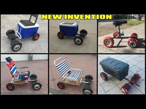 Hoverboard Sitting Attachments Ride In Comfort Youtube Hoverboard New Inventions Toy Car
