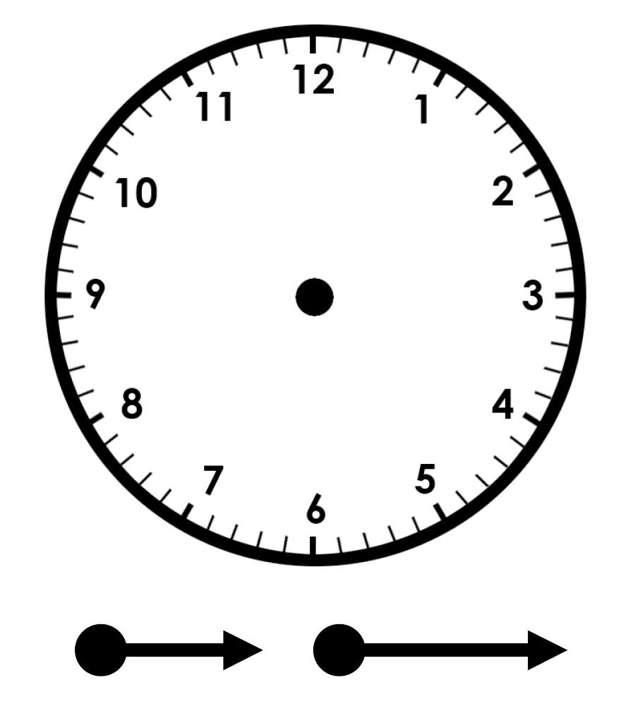 Im genes de relojes para imprimir imagui educaci n - Reloj pegado pared ...
