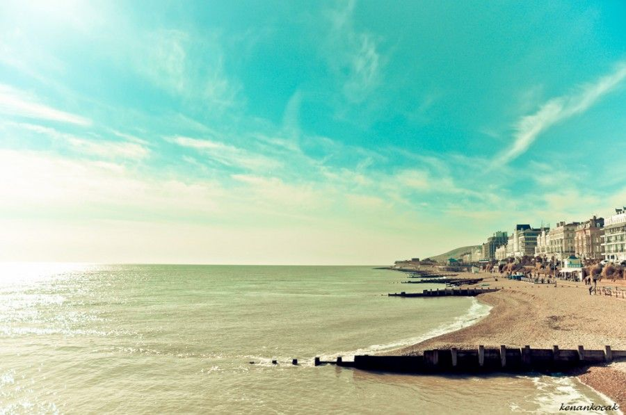 Eastbourne, United Kingdom. Oh, how I love this place... <3