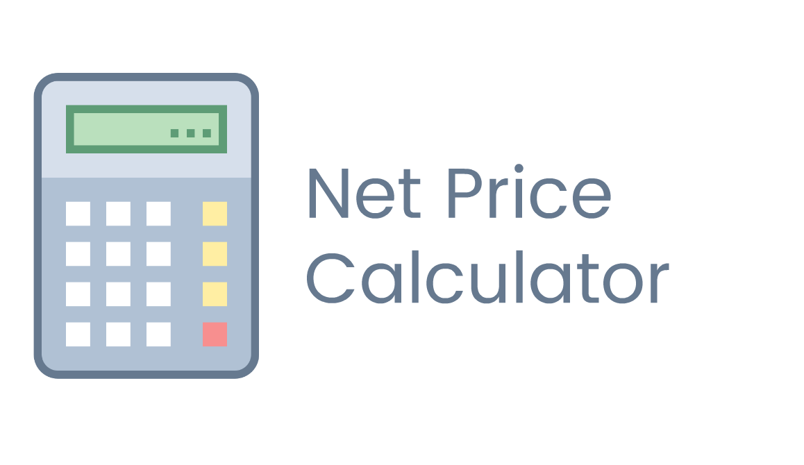 Net Price Calculator Price Calculator Financial Aid Calculator