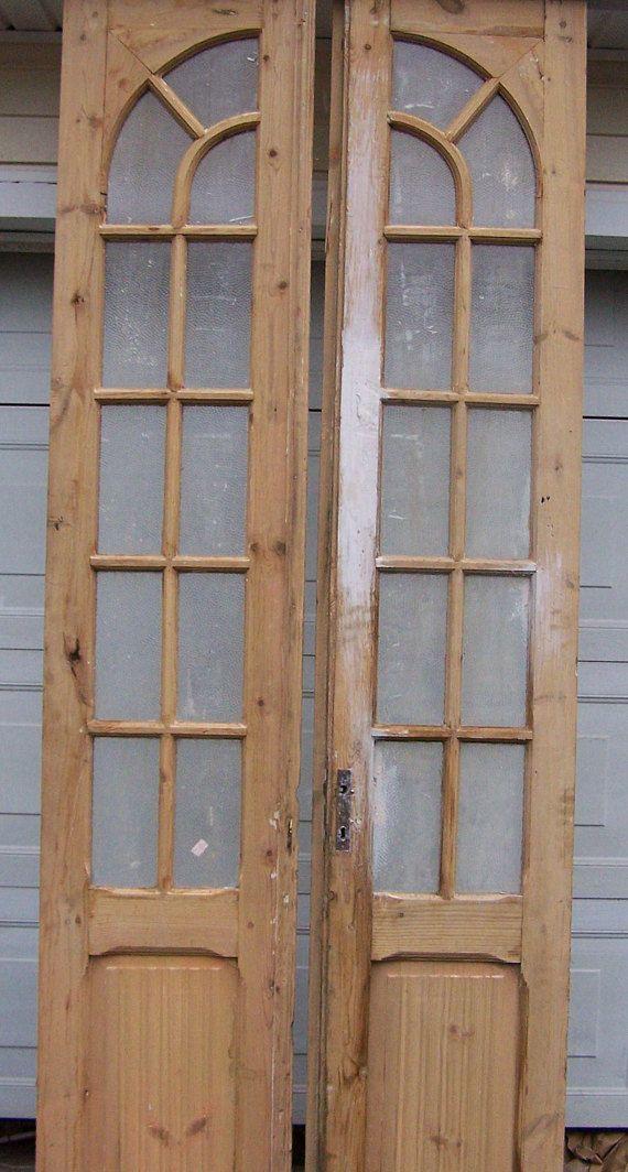 antique wood doors,curved glass panels,mediterranean salvage european doors,  old pine doors - Antique Wood Doors,curved Glass Panels,mediterranean Salvage