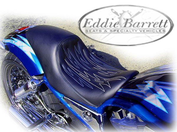 Harley V Rod Custom Seat Eddie Barrett Seats Specialty Vehicles