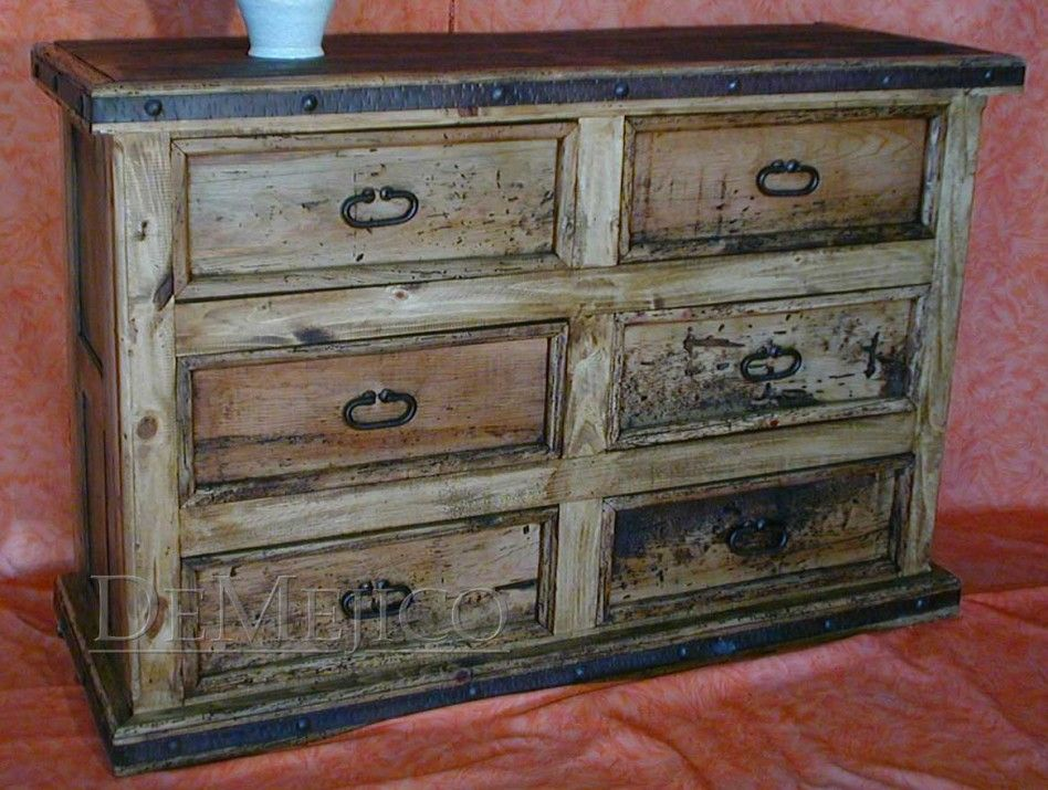 Furniture E Traordinary Bedroom Design Ideas Using Vintage Distressed Wood Dressers With 6 Drawers