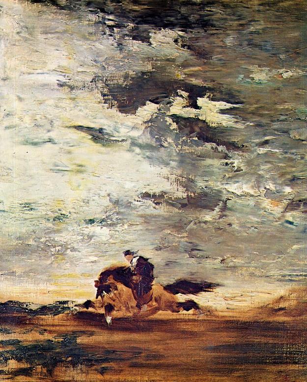 Gustave Moreau, Scottish Horseman, c. 1854