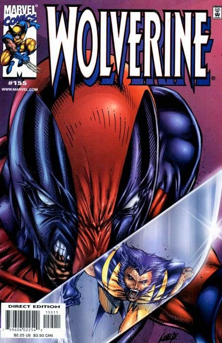 Wolverine Cover By Rob Liefeld Comic Heroes Villains - Deadpool and wolverine are trolling each other on twitter and its the best battle ever