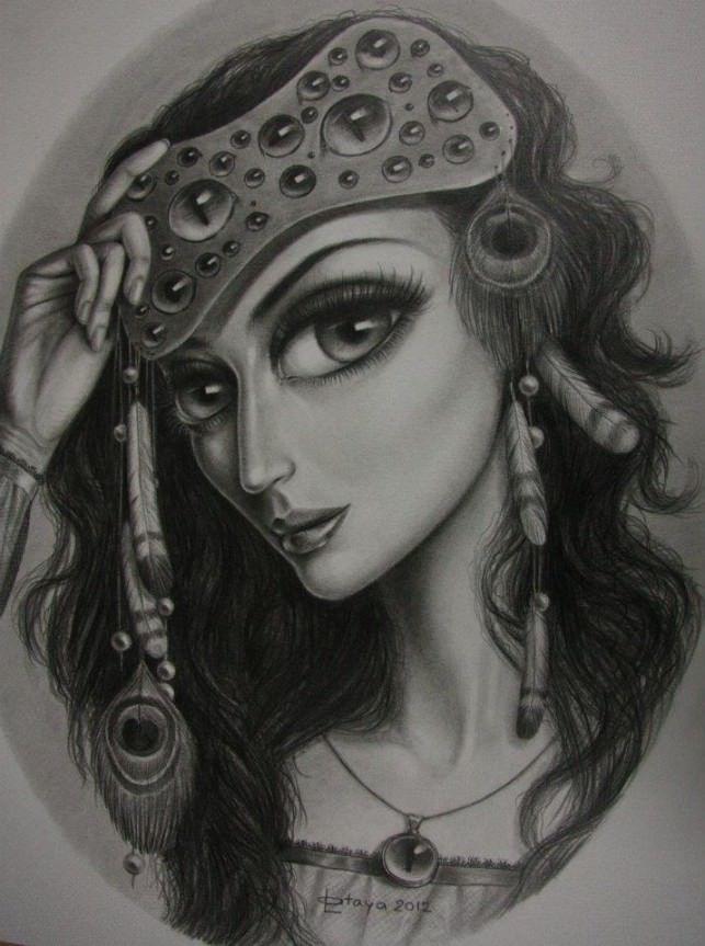 Leila Ataya sketch