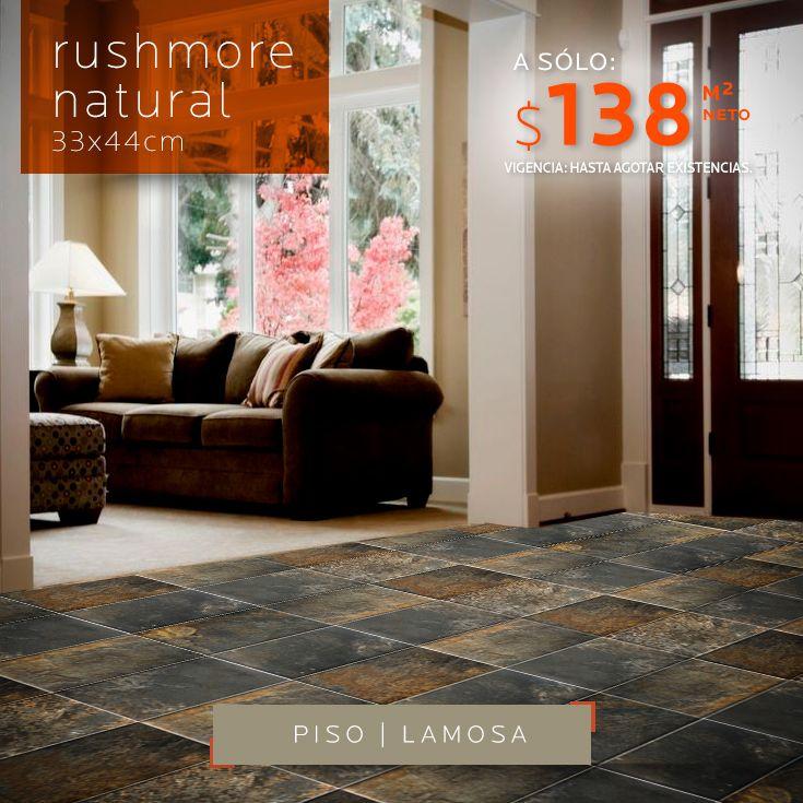 Aprovecha y decora tu hogar piso rushmore natural 33x44cm a s lo 138 neto m2 ven a deceramica - Decora tu piso ...