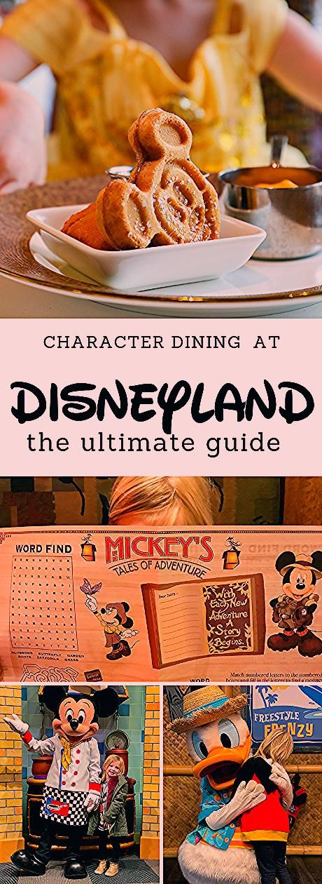 The Ultimate Guide to Disneyland Character Dining