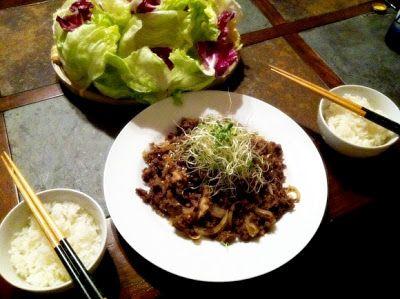 Spicy Beef Bulgogi in 2020   Ground beef bulgogi recipe ...