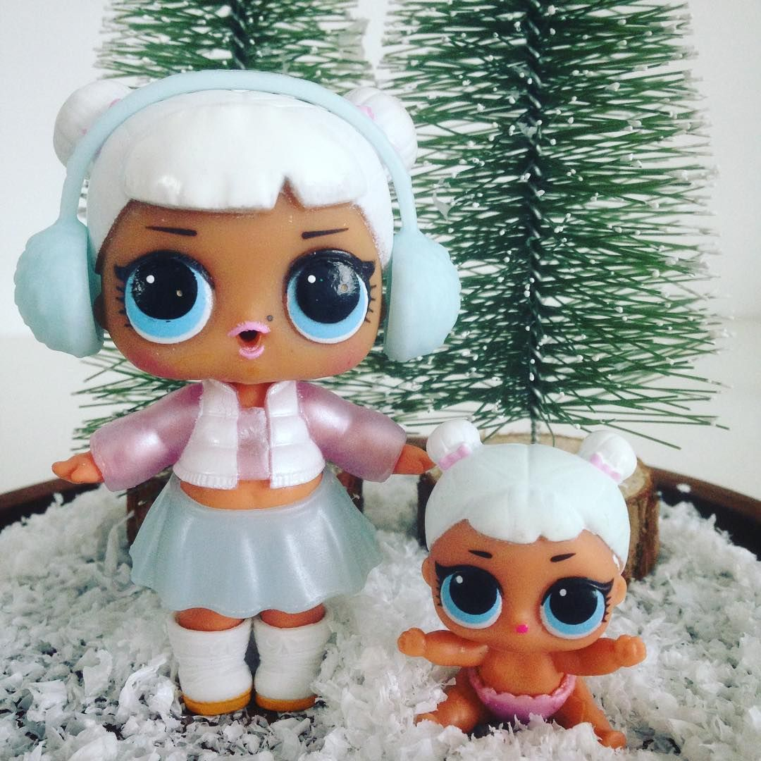 Awww These Two Are Just Adorable Snow Angel Was My First Lol Surprise And She Ultimately Became My Favorite Lol Dolls Birthday Cake Kids Cute Kids