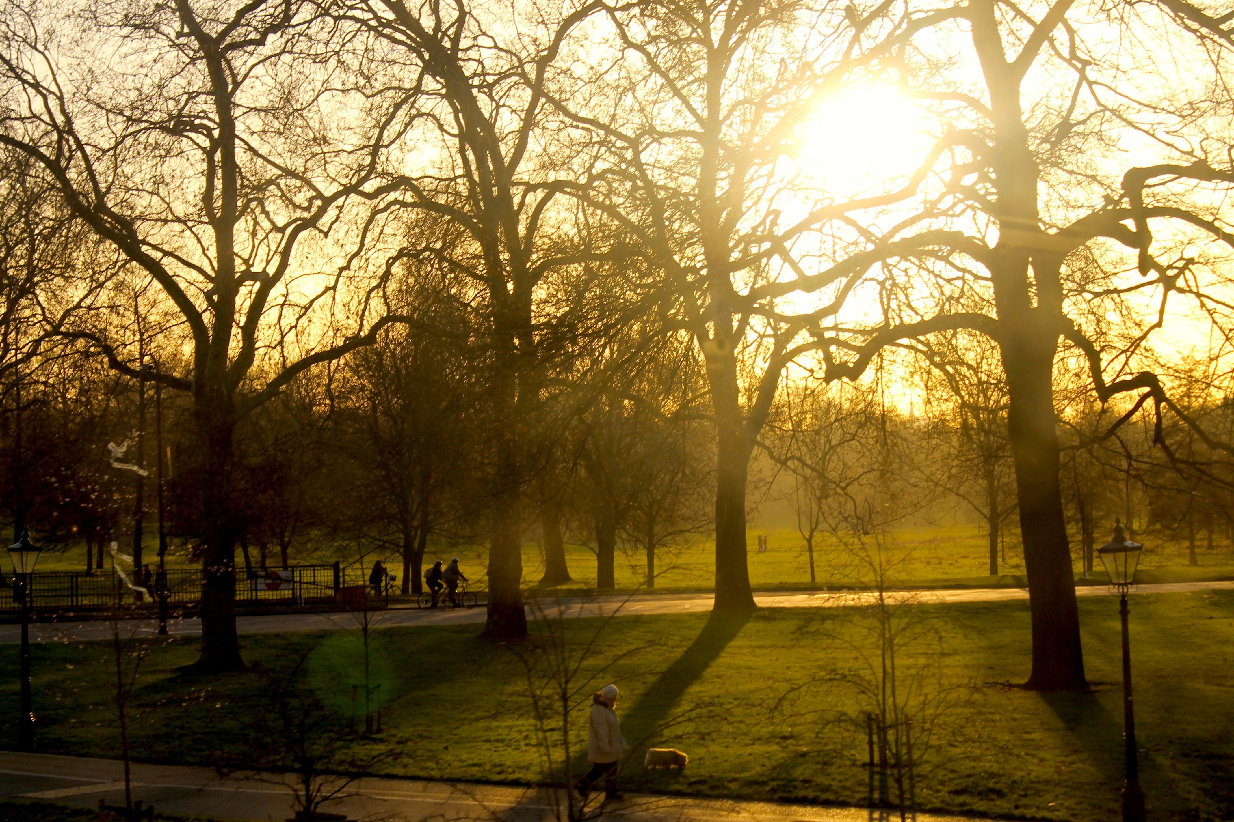Sol en Londres