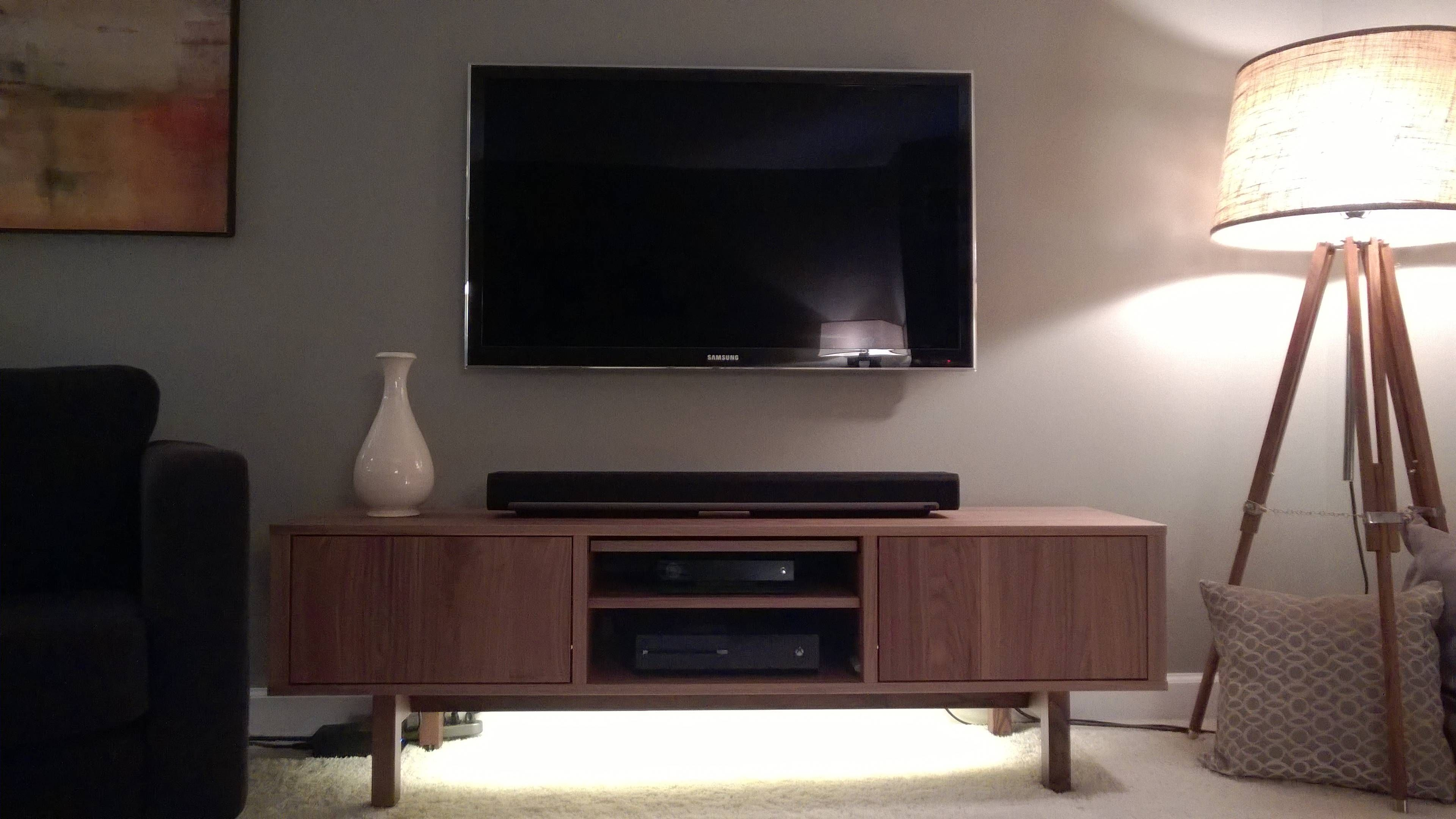 Bf And I Recently Replaced Almost All Our Living Room Furniture  # Meuble Tv Philips