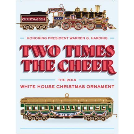 2014 White House Christmas Ornament ** You can find out more details at the link of the image.