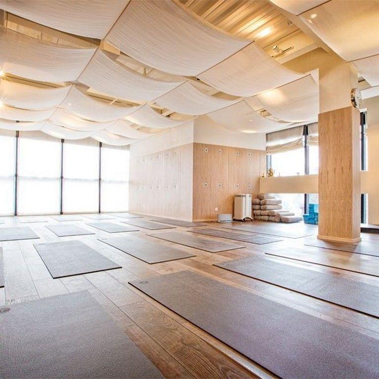 37 Fancy Yoga Studio Design Ideas That Will Make You Relax 37 Fancy Yoga Studio Design Ideas That W In 2020 Yoga Studio Design Yoga Studio Interior Yoga Room Design