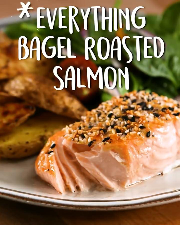 Photo of Everything Bagel Roasted Salmon