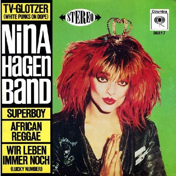 Song Of The Day African Reggae By Nina Hagen Band Nina Hagen