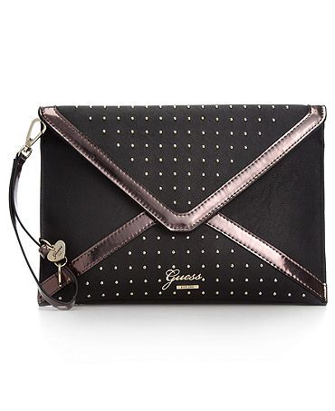 novel style fashion style of 2019 cute cheap GUESS Handbag, Velore Envelope Clutch | >> BAGS | Guess ...