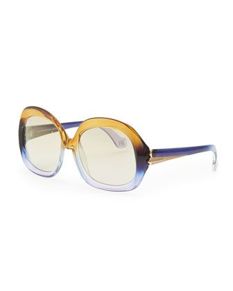TO GIVE - a cool pair of sunglasses to help mom look stylish and protect her eyes. Balenciaga, 212 872 2544