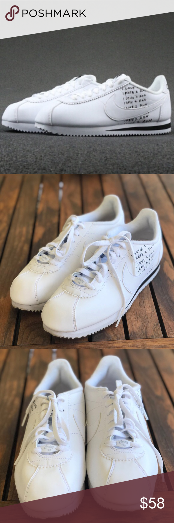 Nike Classic Cortez x Nathan Bell size 9.5 Nike Classic