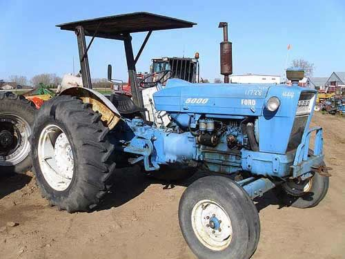 Ford 5000 Tractor Salvaged For Used Parts Call 877 530 4430 Http Www Tractorpartsasap Com Tractors Used Ford Ford Tractor Parts