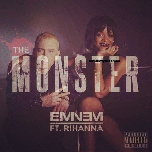 "Eminem ""The Monster"" feat. Rihanna Eminem rihanna"