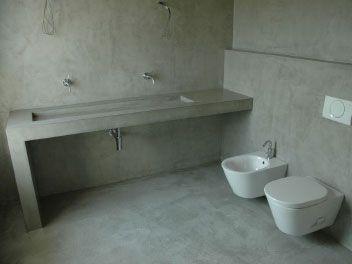 Beton Cire badkamer kan uw oude badkamer transformeren in een geheel ...