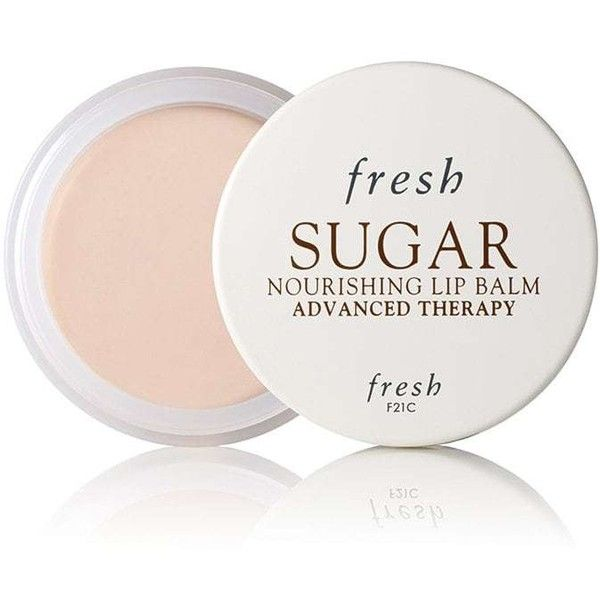 Fresh Women's Sugar Nourishing Lip Balm Advanced Therapy (94 BRL) ❤ liked on Polyvore featuring beauty products, skincare, lip care, lip treatments and fresh lip treatment
