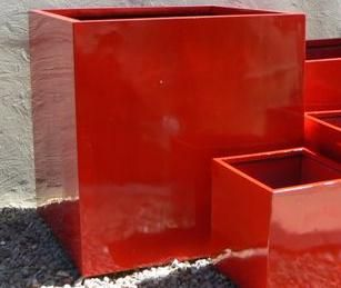 Lightweight fibreglass pots lacquered gloss black garden lightweight fibreglass large square cube planters uv stabilised for outdoor planting wholesale indoor and garden pots based in melbourne from workwithnaturefo