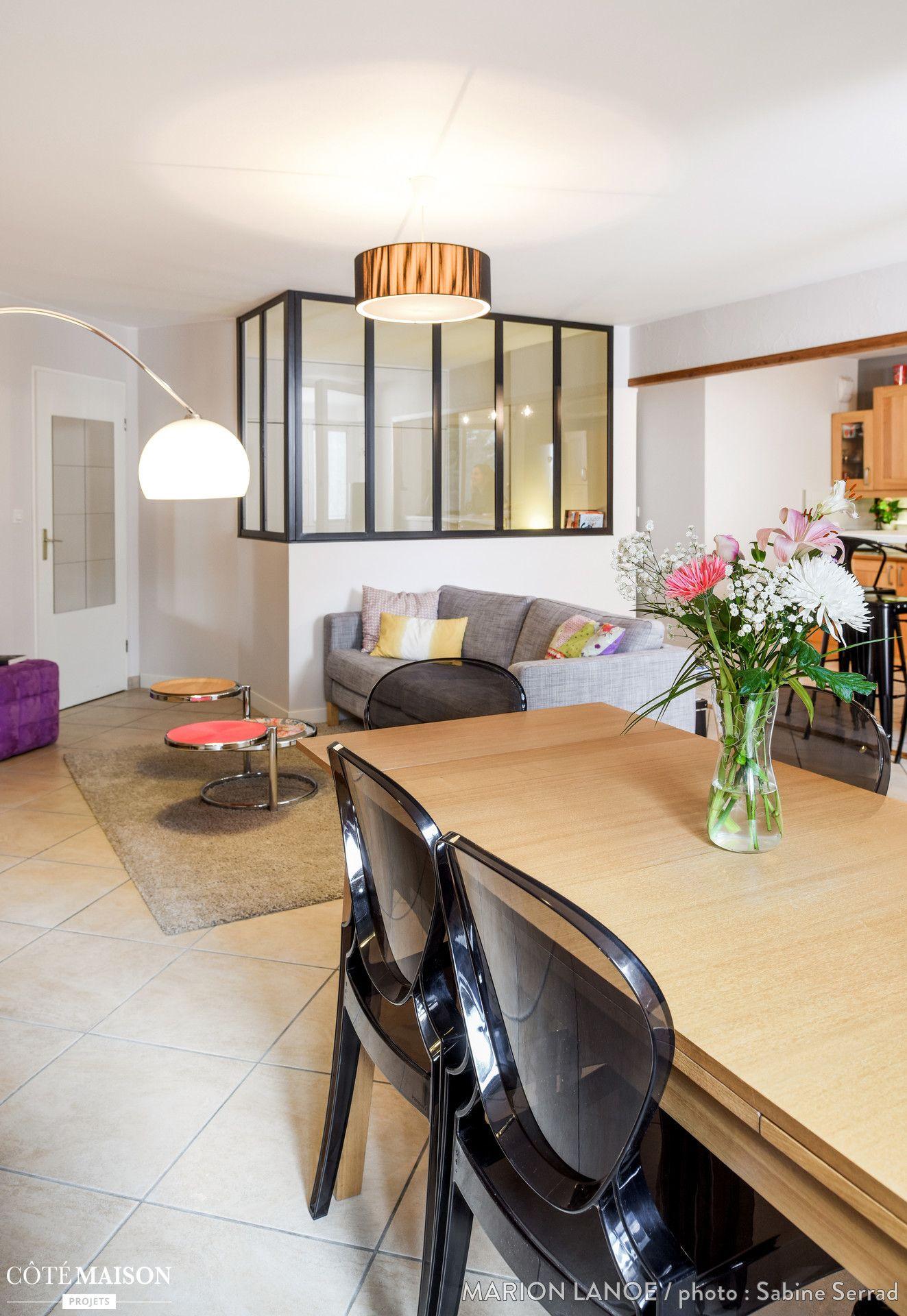 Aménagement et décoration d\'une pièce à vivre dans une maison à ...