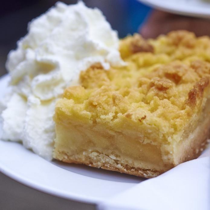 Schneller Apfelkuchen Mit Streuseln Einfach Rezepte Backen