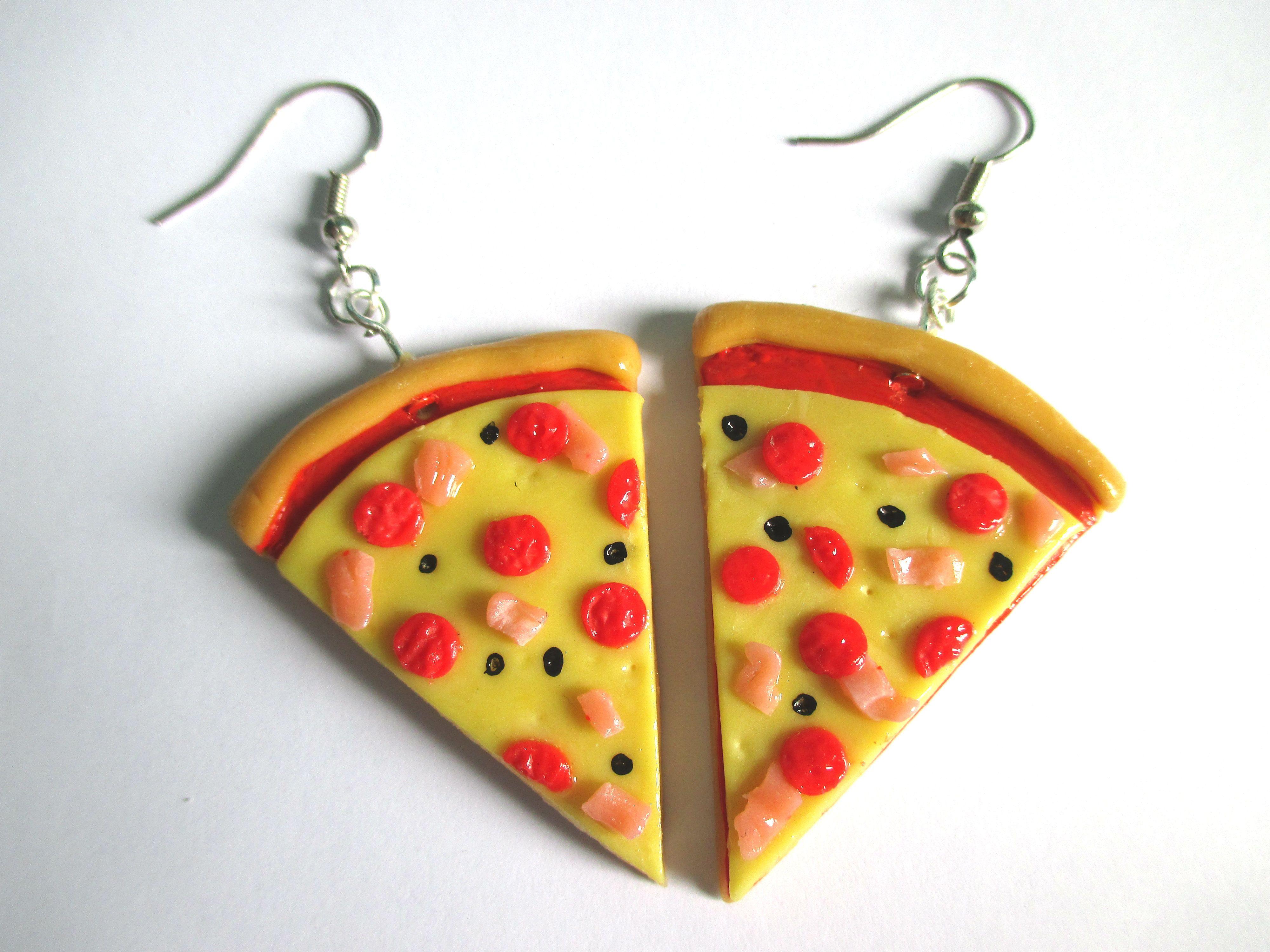 Aros de porcelana fría ! de pizza!