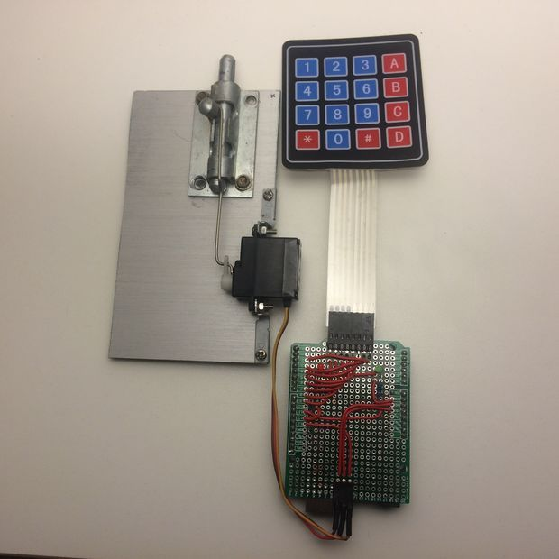 Arduino door lock with password doors and