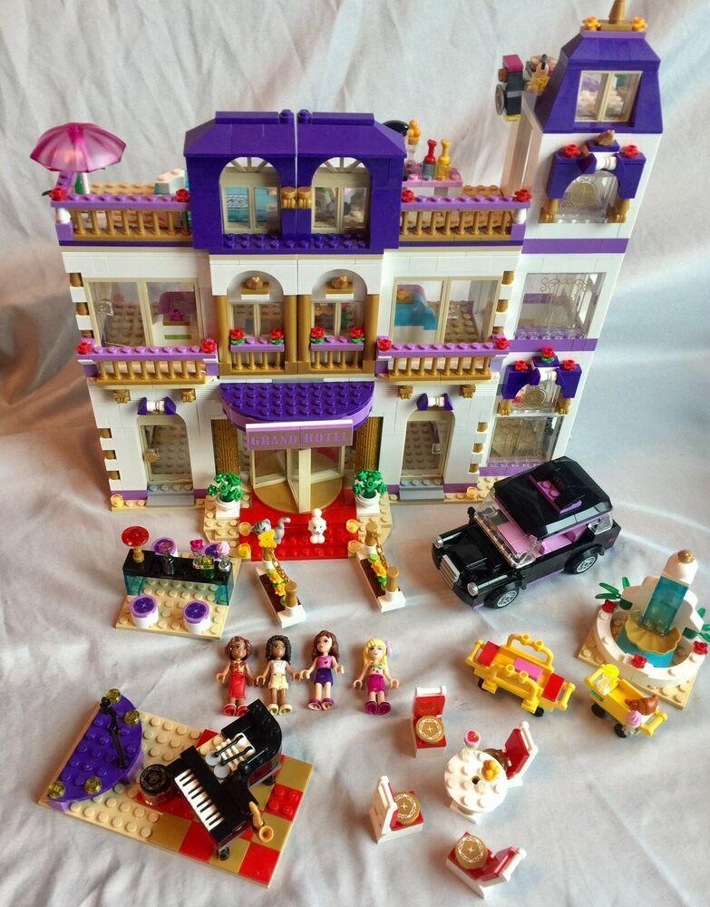 Lego Friends Heartlake Grand Hotel 41101 With 4 Mini Figures No