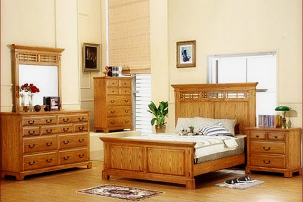 awesome Light Oak Bedroom Furniture for Stylish Aesthetic Decoration ...