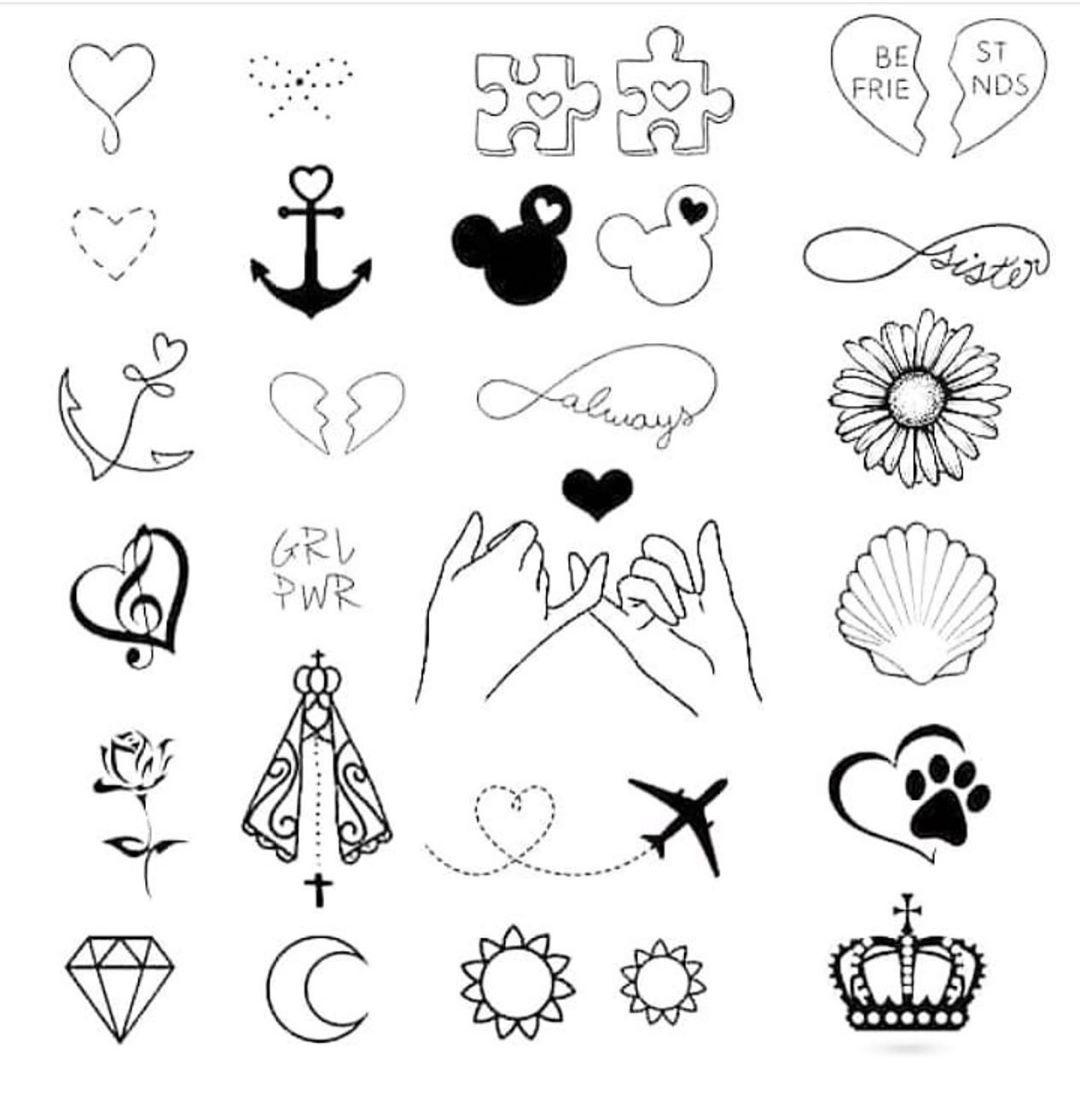 Dessin Tatouage Facile