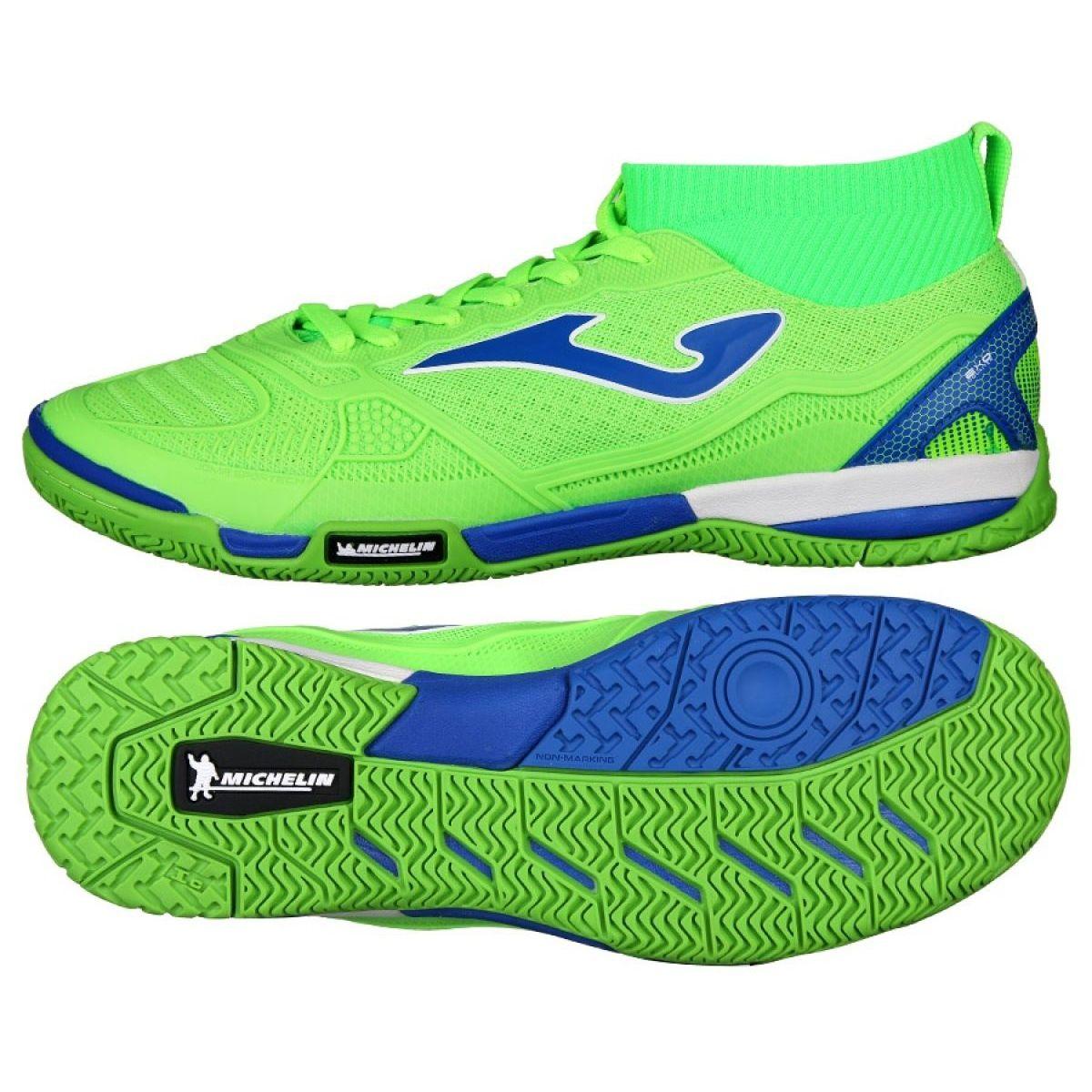Buty Halowe Joma Tactico 811 In M Tactw 811 In Zielone Zielone Indoor Shoe Shoes Joma