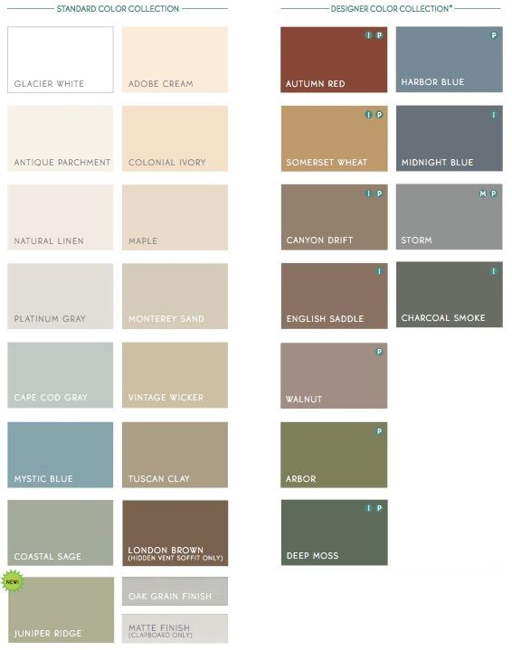 Homes of the prairie siding color options window open for Vinyl siding colors on houses