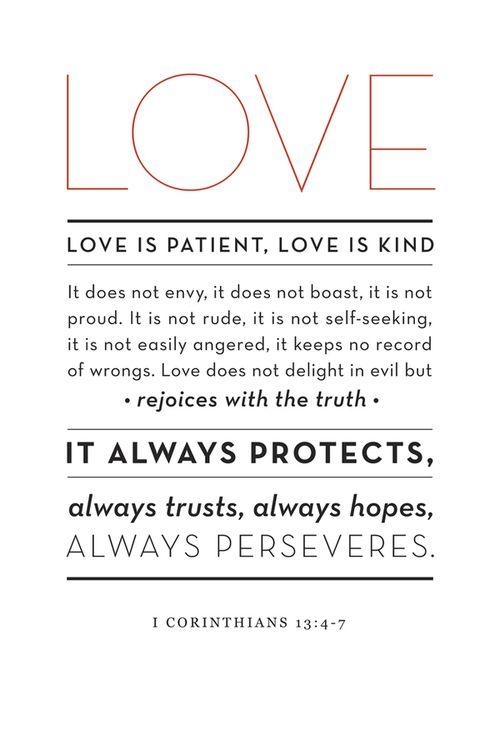 I Corinthians 13 4 7 Words Quotes Verses