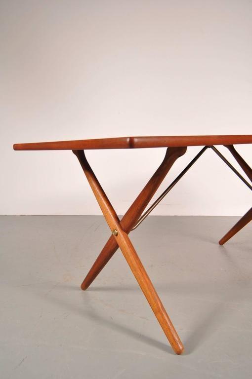 Dining Table By Hans J Wegner For Andreas Tuck Denmark Circa 1950 6
