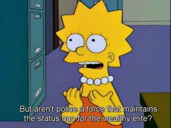 Lisa Is Basically The Most Woke Person To Ever Reside In Springfield Lisa Simpson Simpsons Cartoon Simpsons Quotes