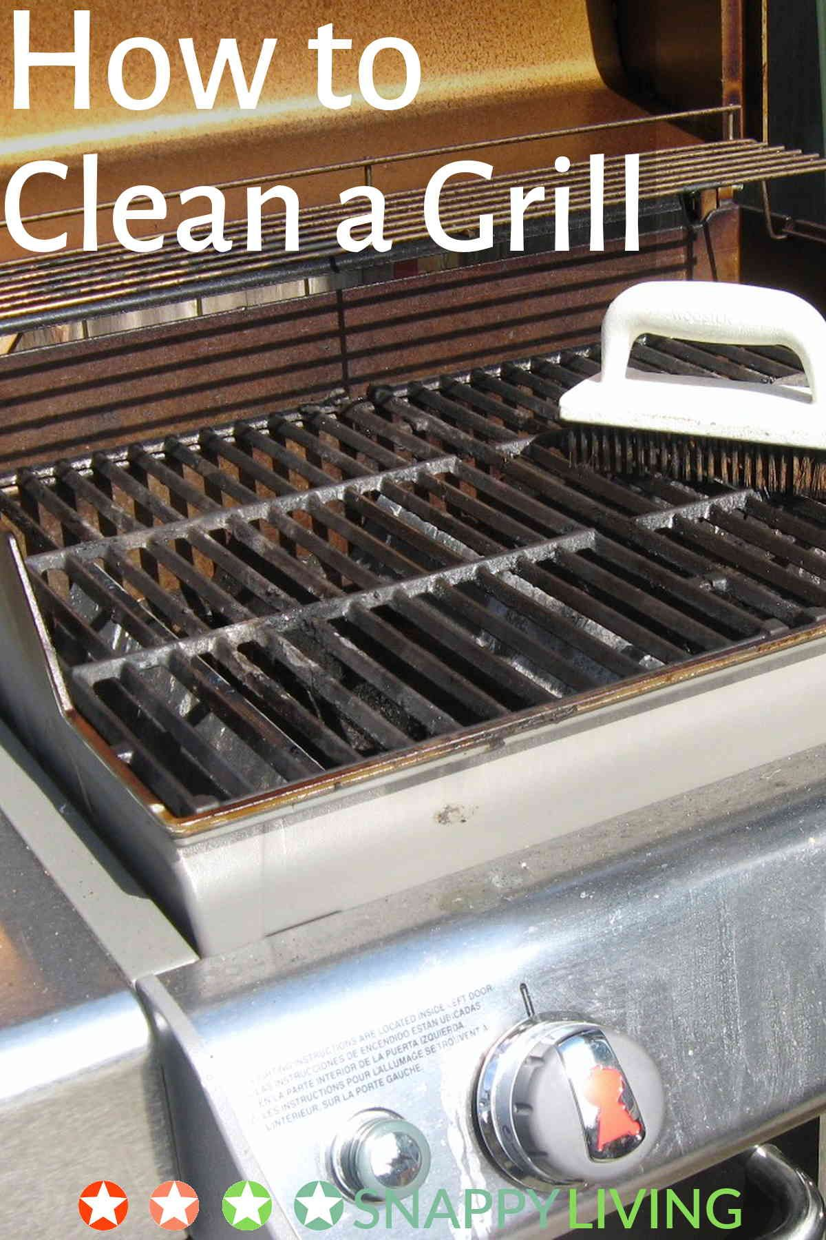 How to Clean a Grill 12 Tips Snappy Living Clean gas