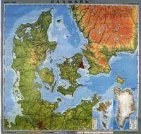Topografisk Kort Danmark Google Sogning Oude Kaarten Kaarten