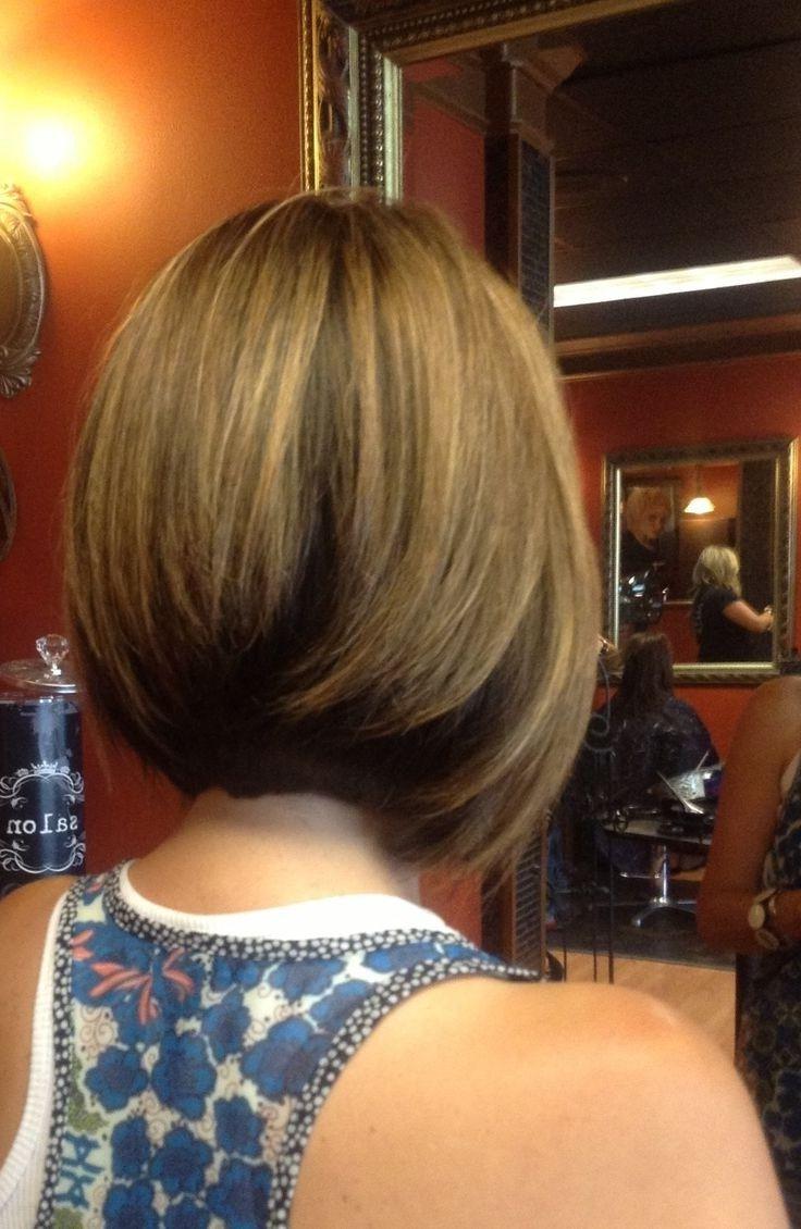 Medium Stacked Hairstyles Fade Haircut Hair Pinterest Hair