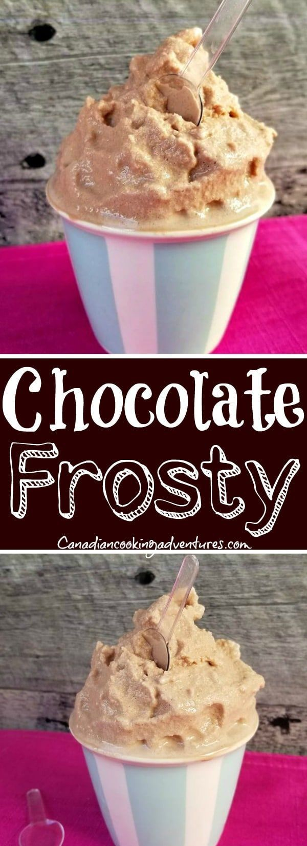 Chocolate Frosty Recipe #chocolatefrosty