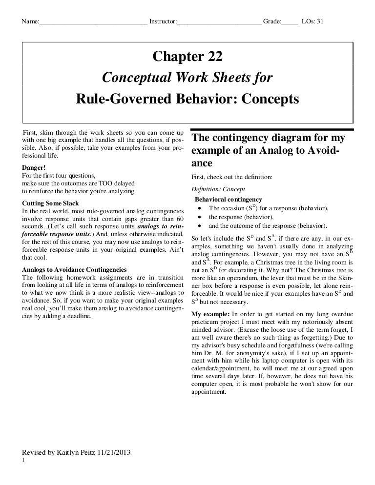 applied behaviour analysis cooper pdf