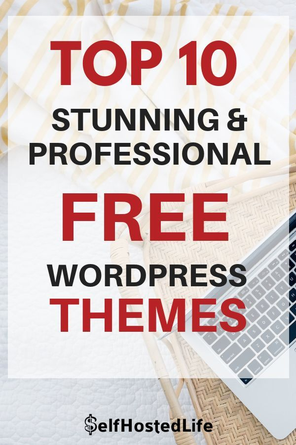Top 10 stunning and professional Free WordPress themes. A list consist WordPress magazine theme, WordPress ecommerce theme, best WordPress themes, WordPress portfolio theme and WordPress business themes. #WordPressthemes #WordPressdesign #WordPresslove